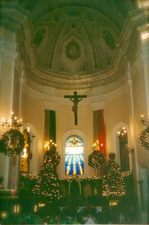 san juan puerto rico christmas decorations at our lady of providence church