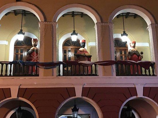 San Juan, Puerto Rico: Christmas decorations of the Three Kings.