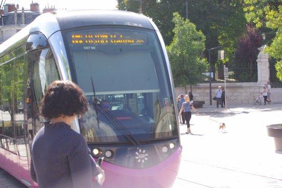 Remilly-sur-Tille, France: Tram