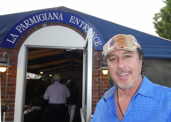 ROSARIO CASSATA AT LA PARMIGIANA ITALIAN RESTAURANT IN SOUTHAMPTON, NEW YORK