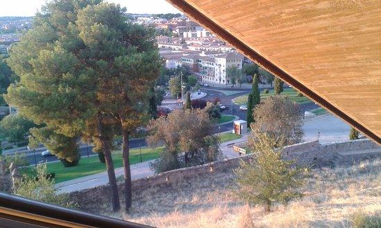 Hostal Madrid : view going up escalator in toledo