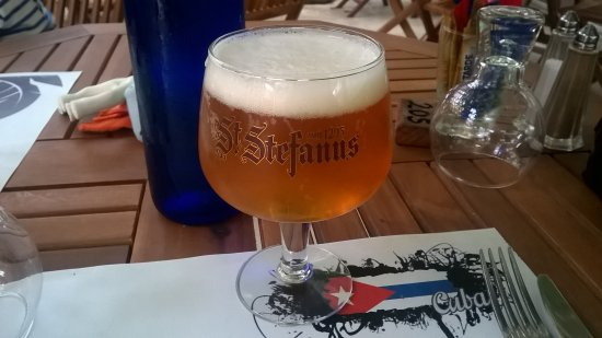 Charavines, Frankrike: Bière blonde Stéfanus