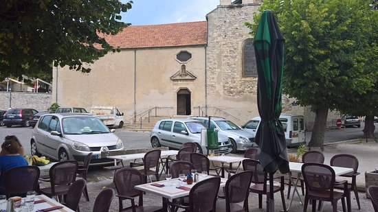 Reillanne, فرنسا: terrasse