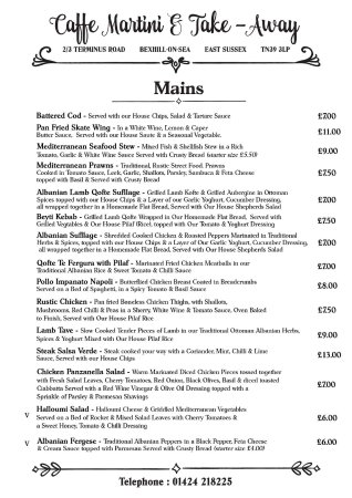 Bexhill-on-Sea, UK: Mains