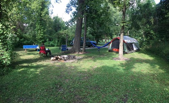Miami, MO: Our campsite #11