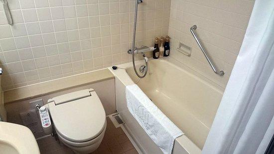 WC und Duschbadewanne - Picture of HOTEL MYSTAYS Sapporo Aspen ... | {Duschbadewanne 23}