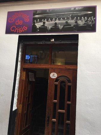 Bar Gabinete de Crisis