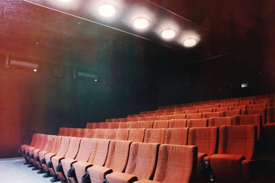 "Pecz, Węgry: Our large, 100-seat screening room, called ""16mm"""