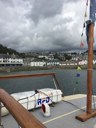 St Mawes, UK: Views from the Ferry