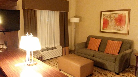 Hampton Inn & Suites Ocala - Belleview: Escritorio y Sala
