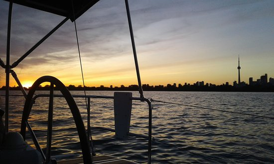 Sunset Sail with Gone Sailing Adventures