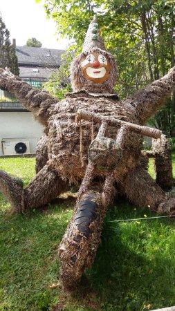 Hoechenschwand, Jerman: Strohskulptur
