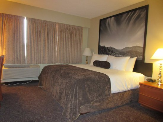 Super 8 by Wyndham Castlegar BC: King Bed