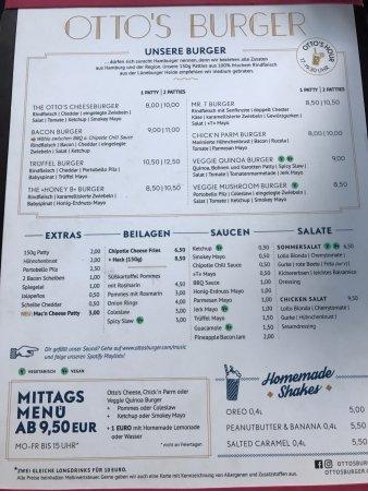 Otto 39 s burger lange reihe hamborg restaurantanmeldelser for Ottos burger hamburg