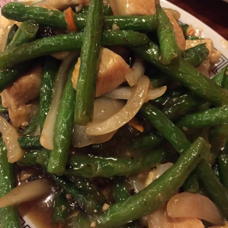 Sutherlin, Oregón: Green bean chicken