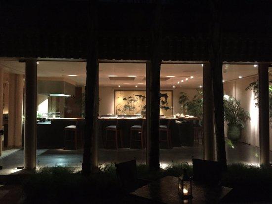 Amanjena: Restaurant japonais