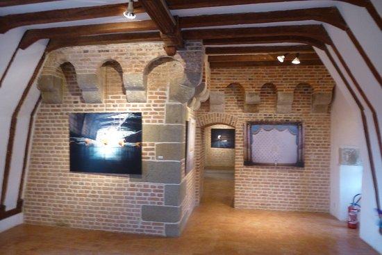 Carrouges, Frankrike: Pièce d'exposition dans les combles