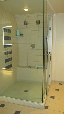 Marriott's Grand Chateau: shower for 2