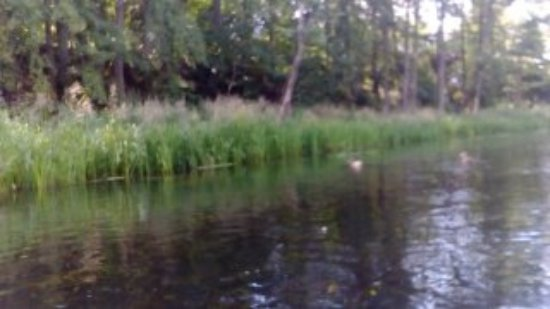 Krutyn, Polônia: rzeka