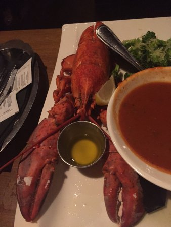 Lobster dinner - Picture of Merchantman Fresh Seafood ...