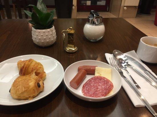 Hotel Admiral Geneva : 朝食