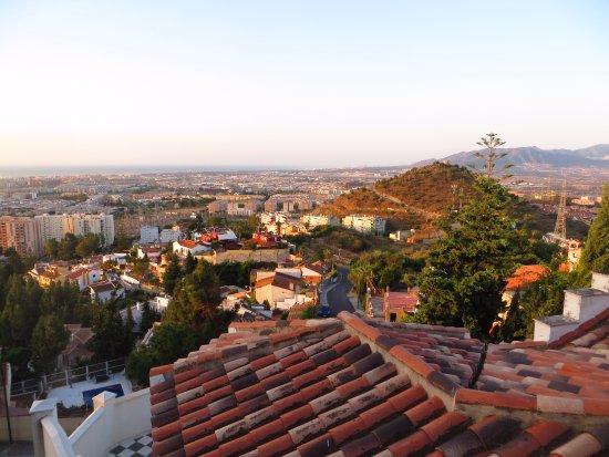 Hotel Villa Guadalupe: Ontbijten met fantastisch zicht op Malaga