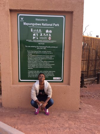 Provincia de Limpopo, Sudáfrica: At the park entrance
