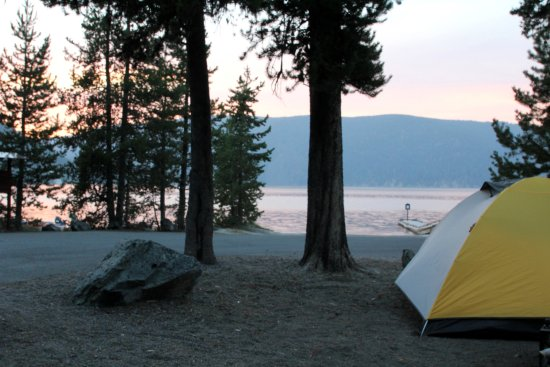 La Pine, ออริกอน: East Lake Campground site #1
