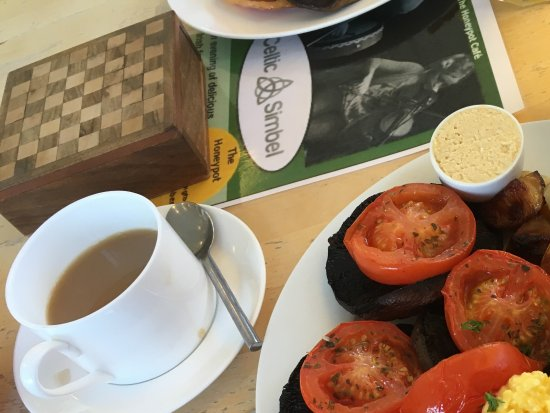 Rustington, UK : Vegetarian Breakfast