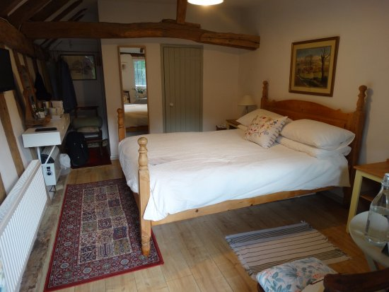 Broxted, UK: Our room at Church Hall Farm