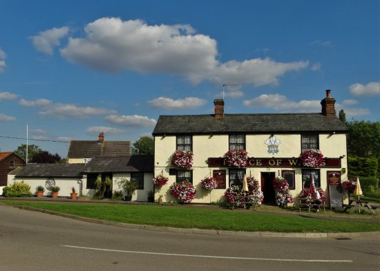 "Broxted, UK: Nearby ""Prince of Wales"" pub - good for evening meals."