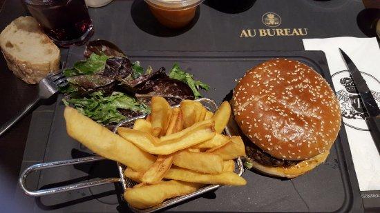 Simple bureau burger picture of au bureau pontarlier tripadvisor