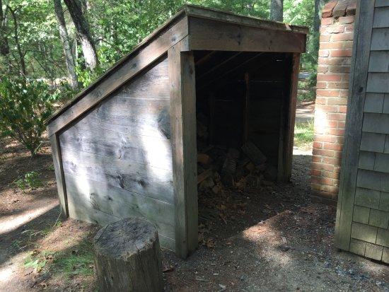 Thoreau House: Small replica of original!