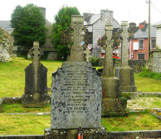 Athenry, Ιρλανδία: Parte externa del recinto del Heritage Centre.