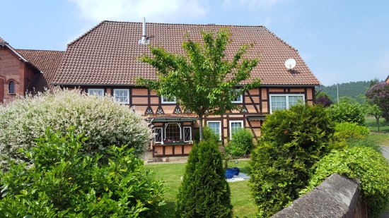 Hessisch Oldendorf, Alemania: Beautiful, peaceful, brand new rooms and wonderful people.