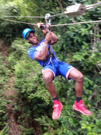 Coxen Hole, Honduras: The Canopy At Maya Eden Its A Life Time Experience You Get To Explore Through The Jungle .