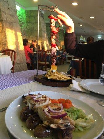 Ótima refeição com vista deslumbrante