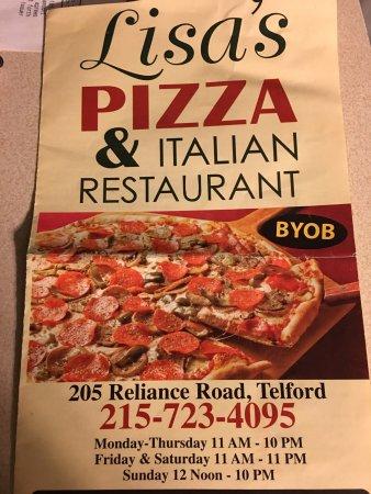 Italian Restaurants Telford Pa