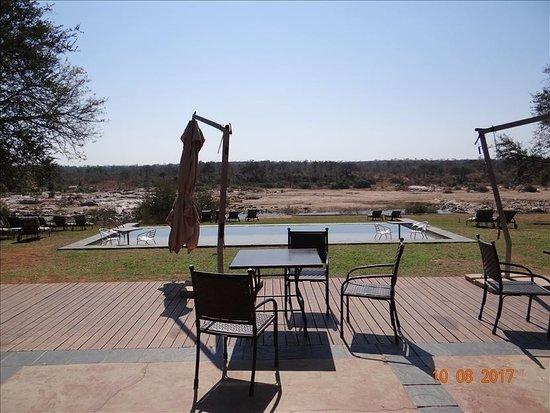 Mjejane River Lodge: E davanti a noi il Parco Kruger!