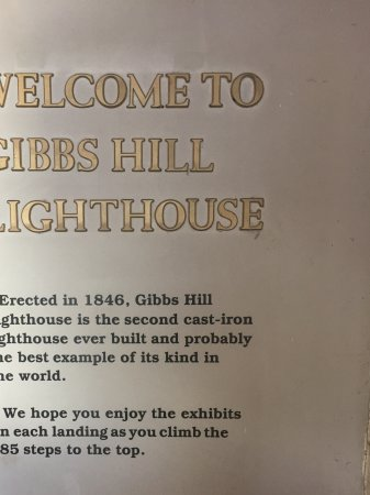 ‪‪Gibb's Hill Lighthouse‬: A little information about Gibbs Hill Lighthouse‬