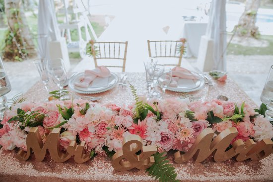 Sweetheart Table Decor For A Wedding In Kukua Punta Cana Dr