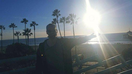 Manhattan Beach California - view from the pier