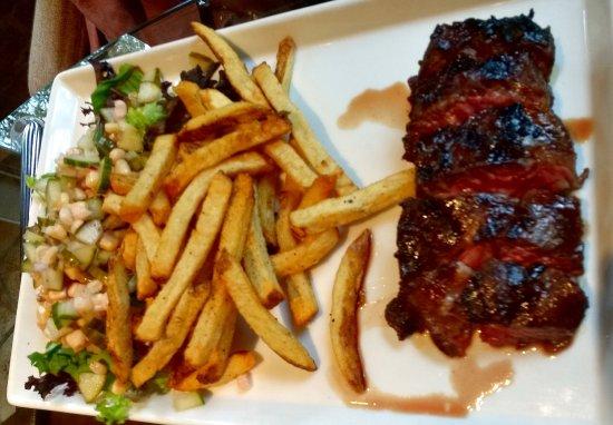 Orange, VA: Hanger Steak with Fries