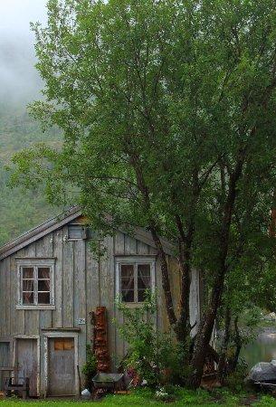 Mosjoen, Noruega: The Historical Sjoegata Street