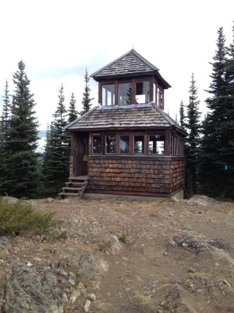 Manning Park, Canada: 1950's Fire tower
