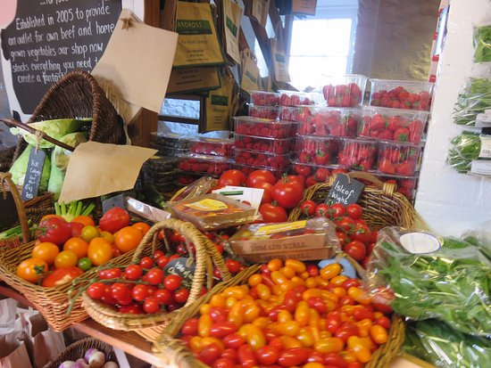 Elie, UK: great tomato section