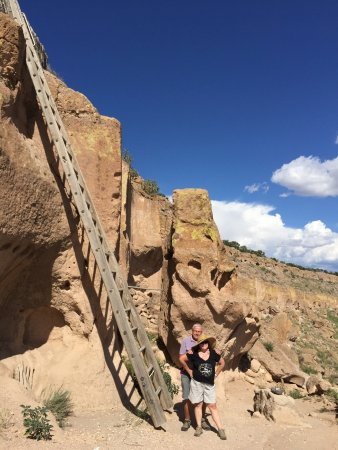Espanola, NM: Incredible tour - A highlight of our trip! Learned so much from our local guide, and accomplishe