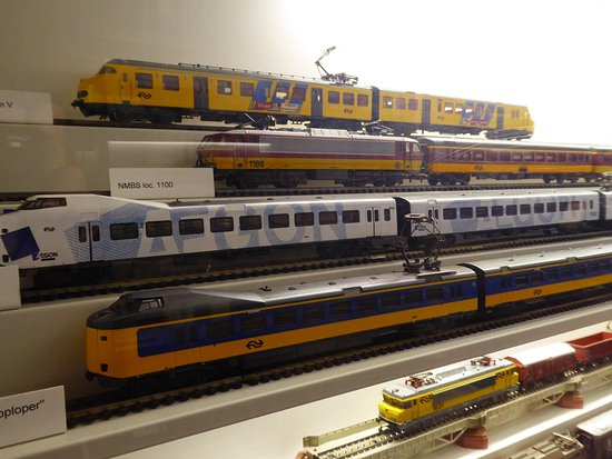 Doetinchem, Pays-Bas : model trains