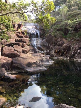 Hinchinbrook Island: serene waterfalls