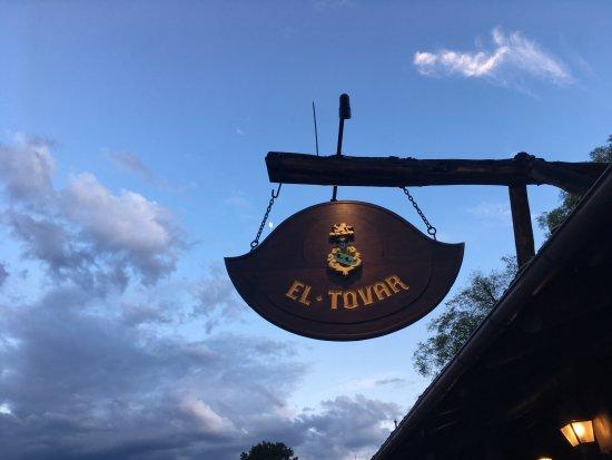 El Tovar Hotel: Front Sign